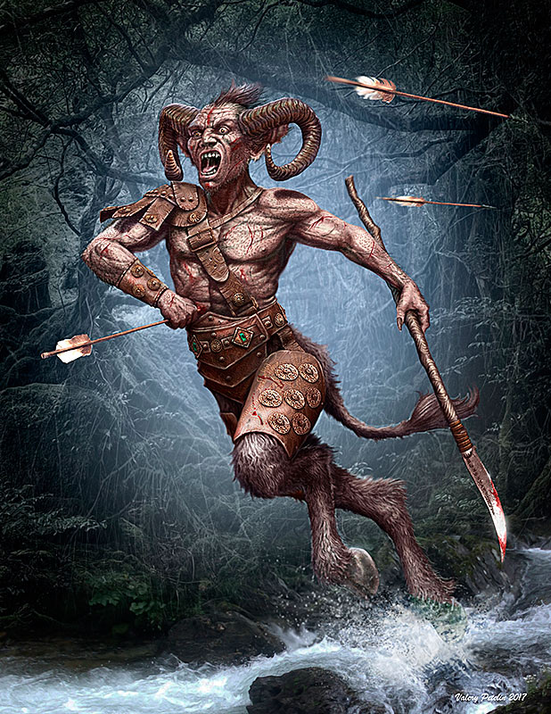 Ancient Greek Myths Series. Satyr /24024/