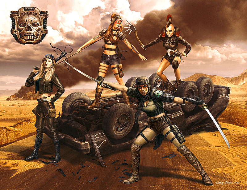 Desert Battle Series, Skull Clan - Death Angels /35122/