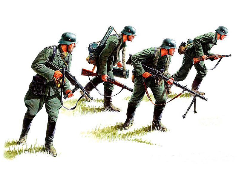 German panzergrenadiers (1939-1942) /3513/