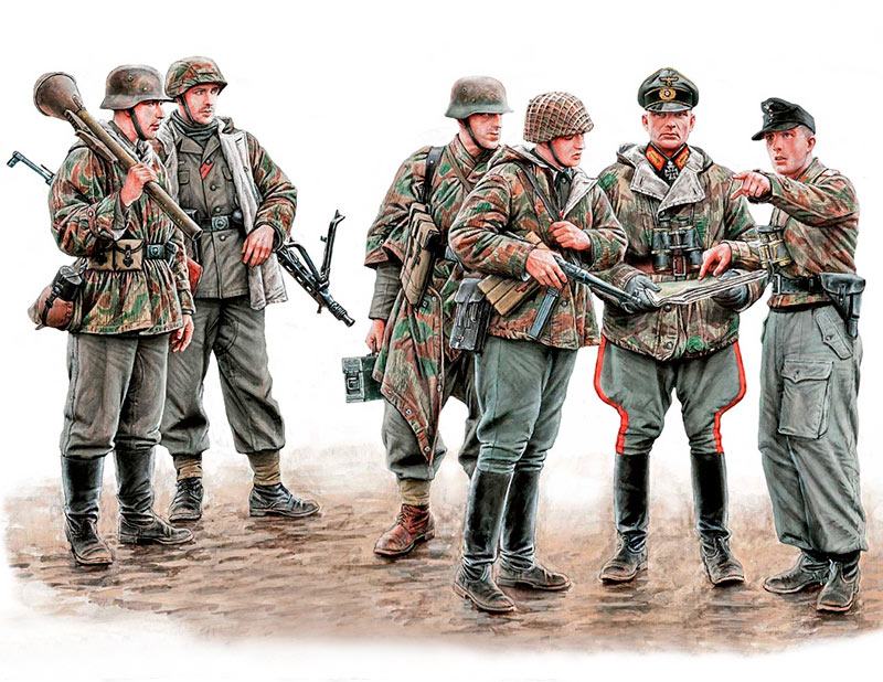 Let's stop them here! German Military Men, 1945 /35162/
