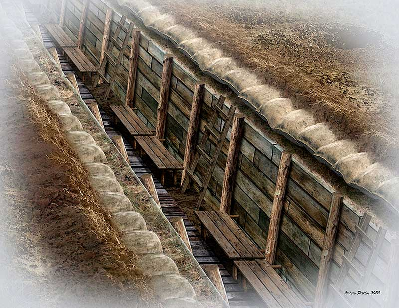 The trench. WWI & WWII era /35174/