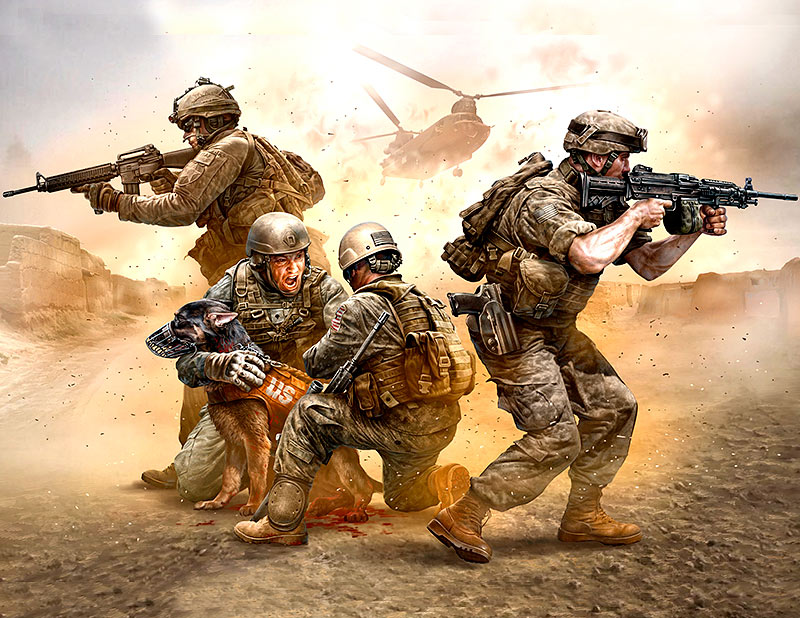 Under Fire. Modern US Infantry /35181/