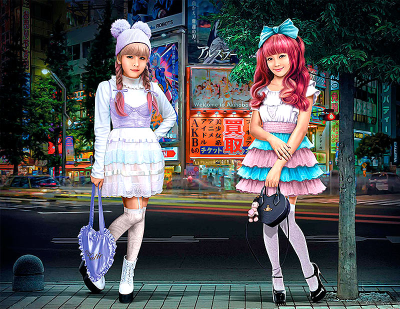 Kawaii fashion leaders. Minami and Mai /35187/