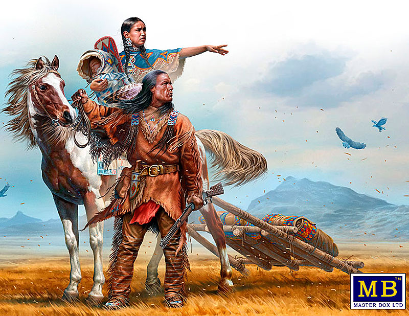 Indian Wars Series. On the Great Plains /35189/