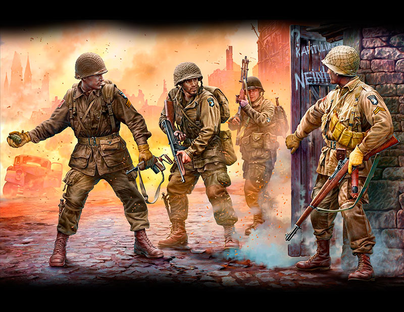 Take one more grenade! Screaming Eagles, 101st Airborne (Air Assault) Division, Europe, 1944-1945 /3574/