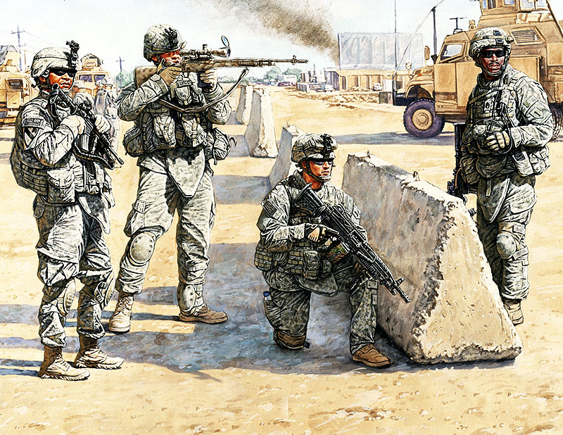 US Check Point in Iraq /3591/