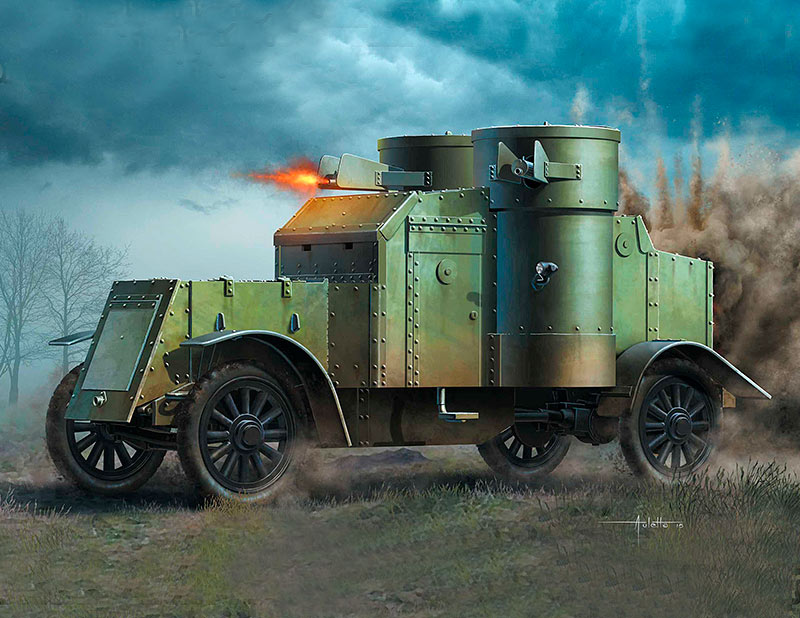 British Armoured Car, Austin, MK III, WW I Era /72007/