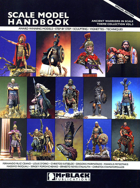 Scale Model Handbook. Special edition. Ancient warriors in scale. Theme collection Vol.3